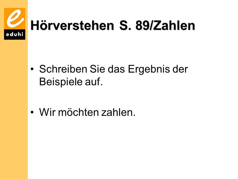 Hörverstehen S. 89/Zahlen
