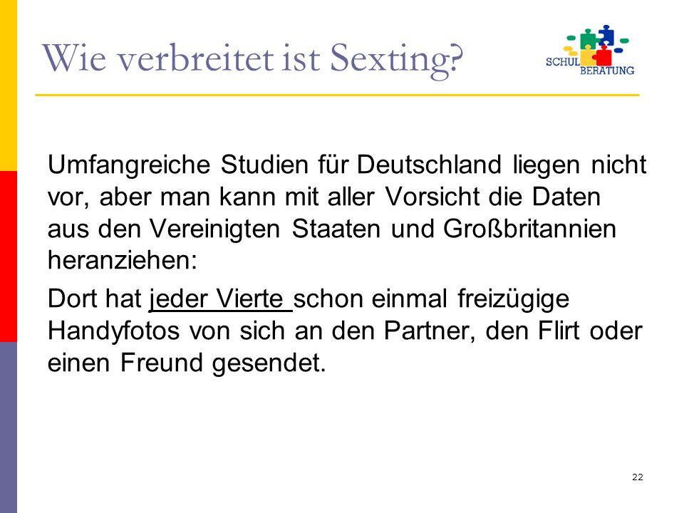 Wie verbreitet ist Sexting