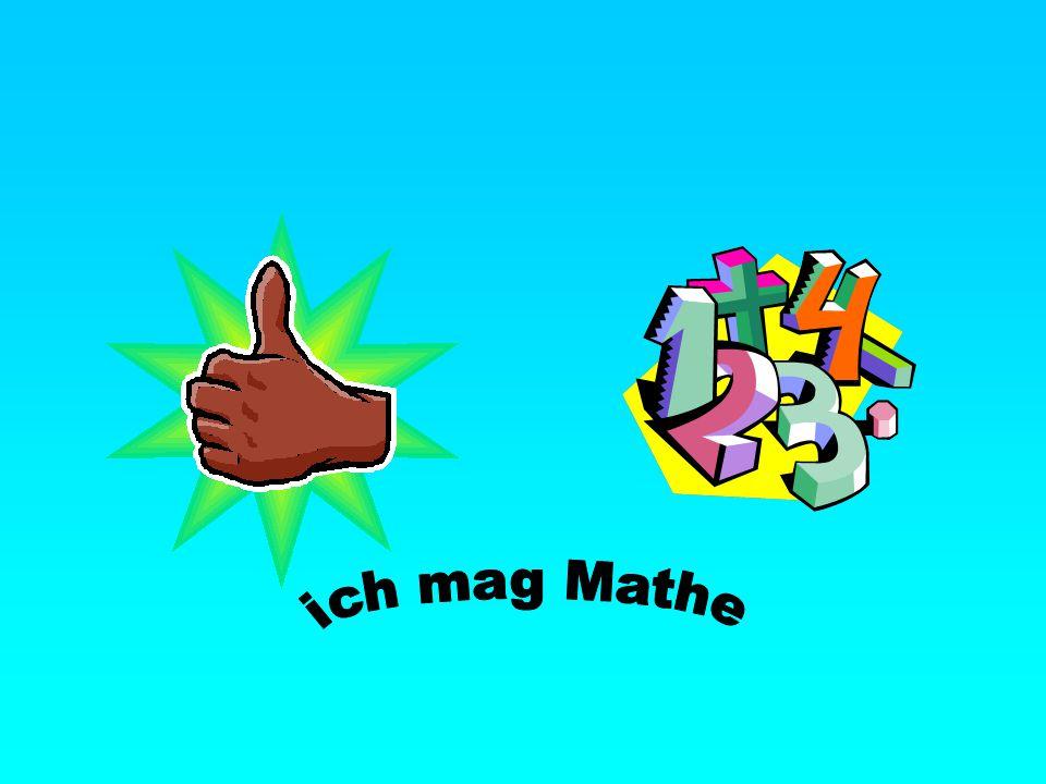ich mag Mathe
