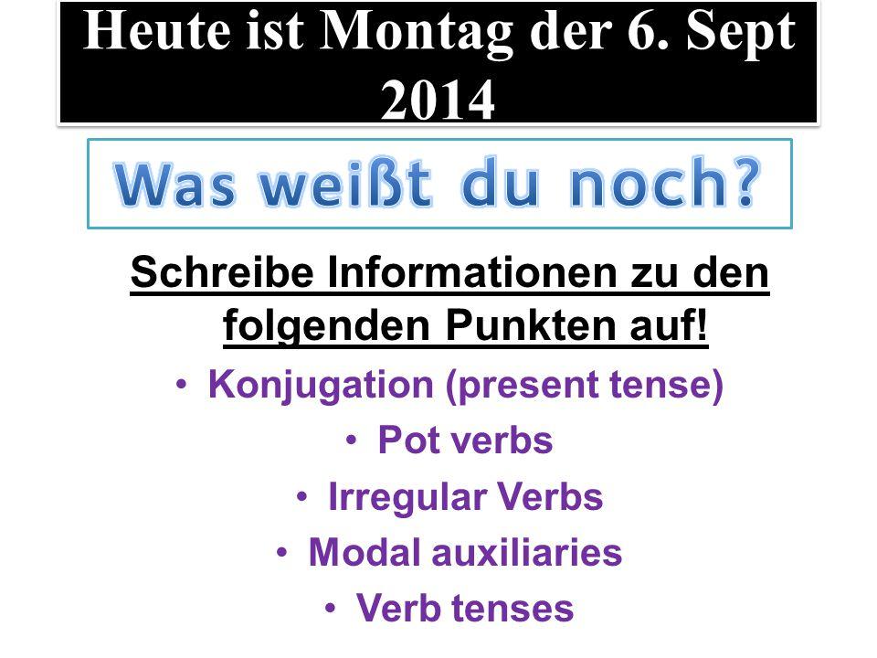 LT: die deutschen Verben