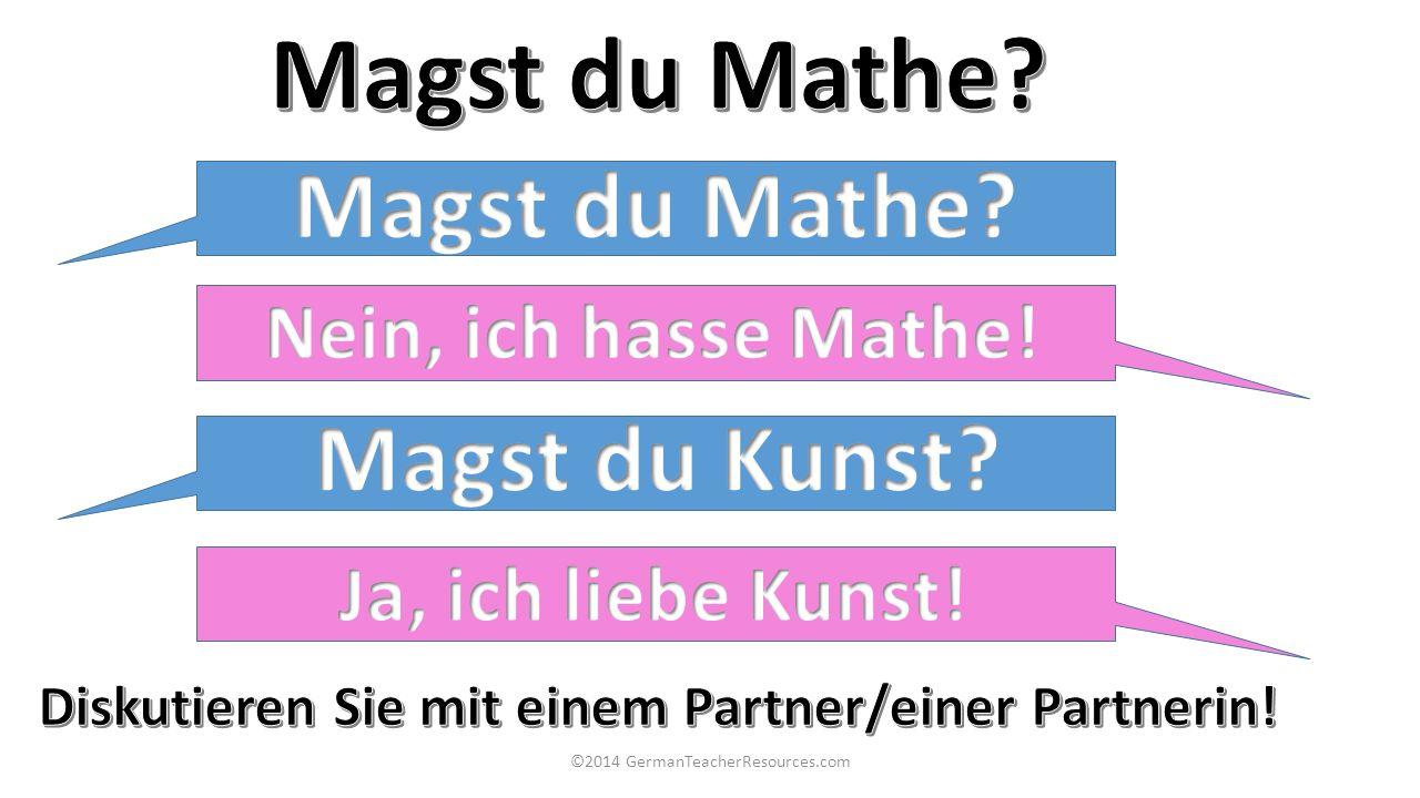 Diskutieren Sie mit einem Partner/einer Partnerin!