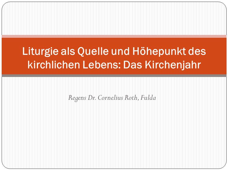Regens Dr. Cornelius Roth, Fulda
