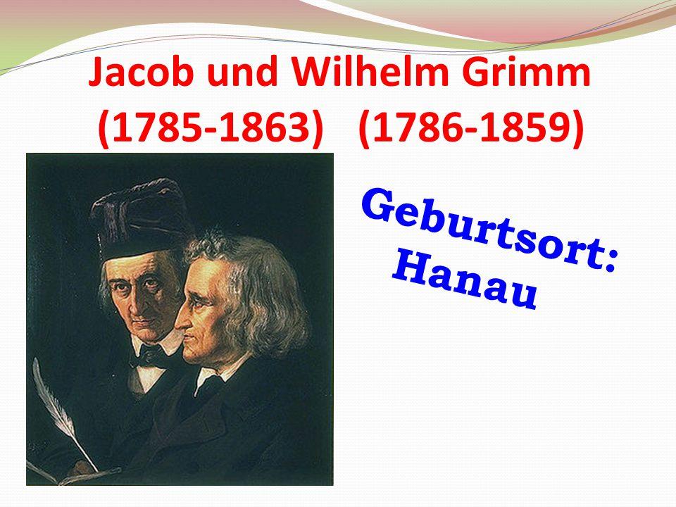 Jacob und Wilhelm Grimm (1785-1863) (1786-1859)