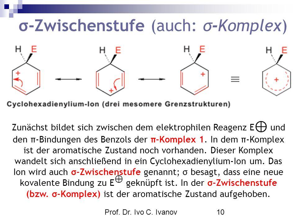 σ-Zwischenstufe (auch: σ-Komplex)