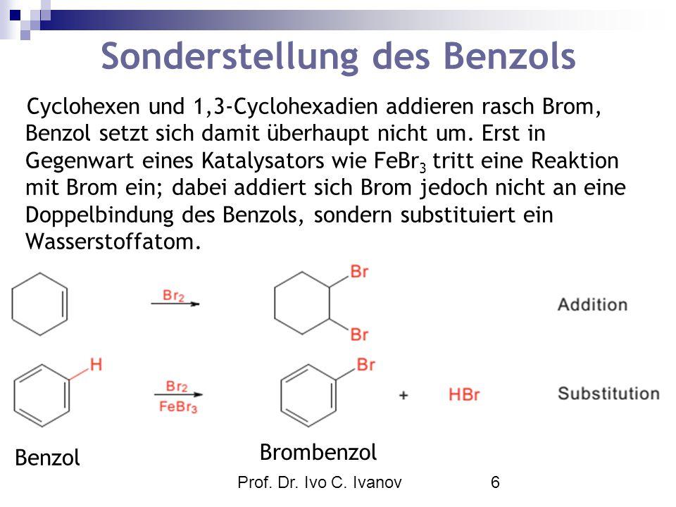 Sonderstellung des Benzols