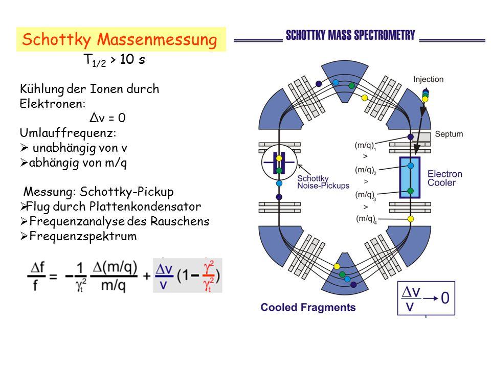 Schottky Massenmessung