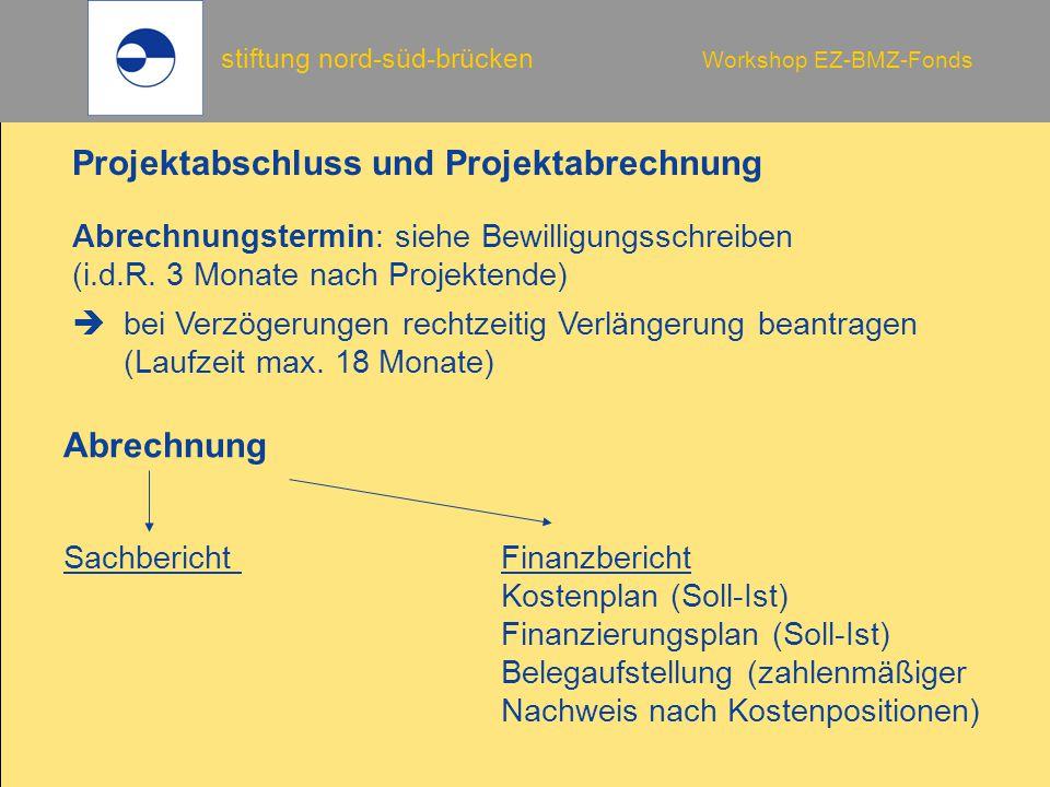 Projektabschluss und Projektabrechnung