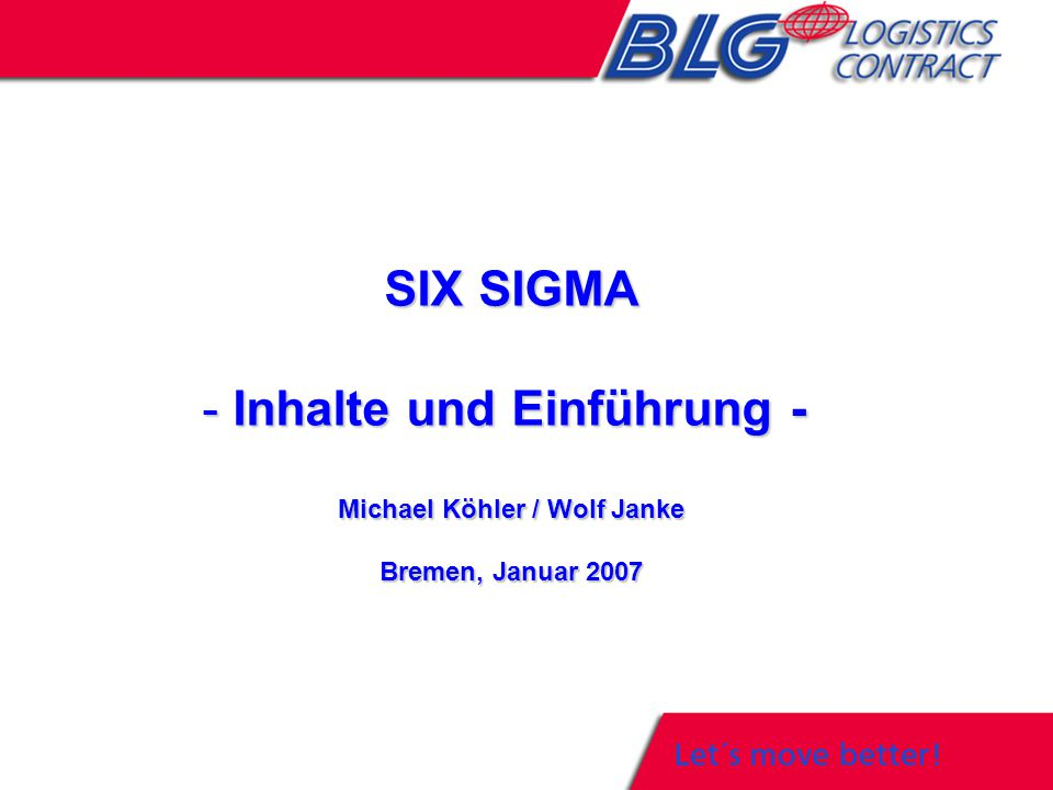 Inhalte und Einführung - Michael Köhler / Wolf Janke