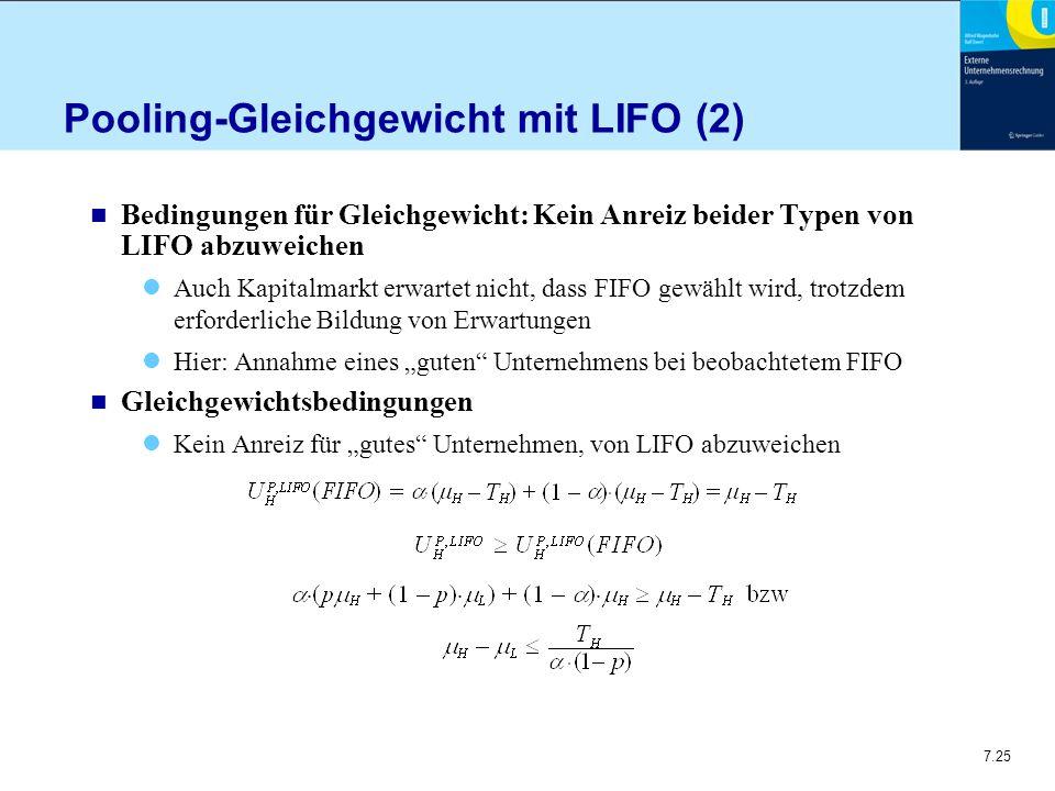 Pooling-Gleichgewicht mit LIFO (2)