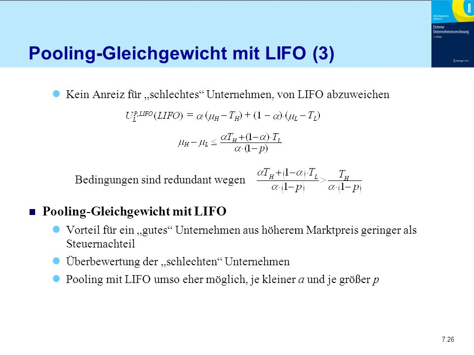 Pooling-Gleichgewicht mit LIFO (3)