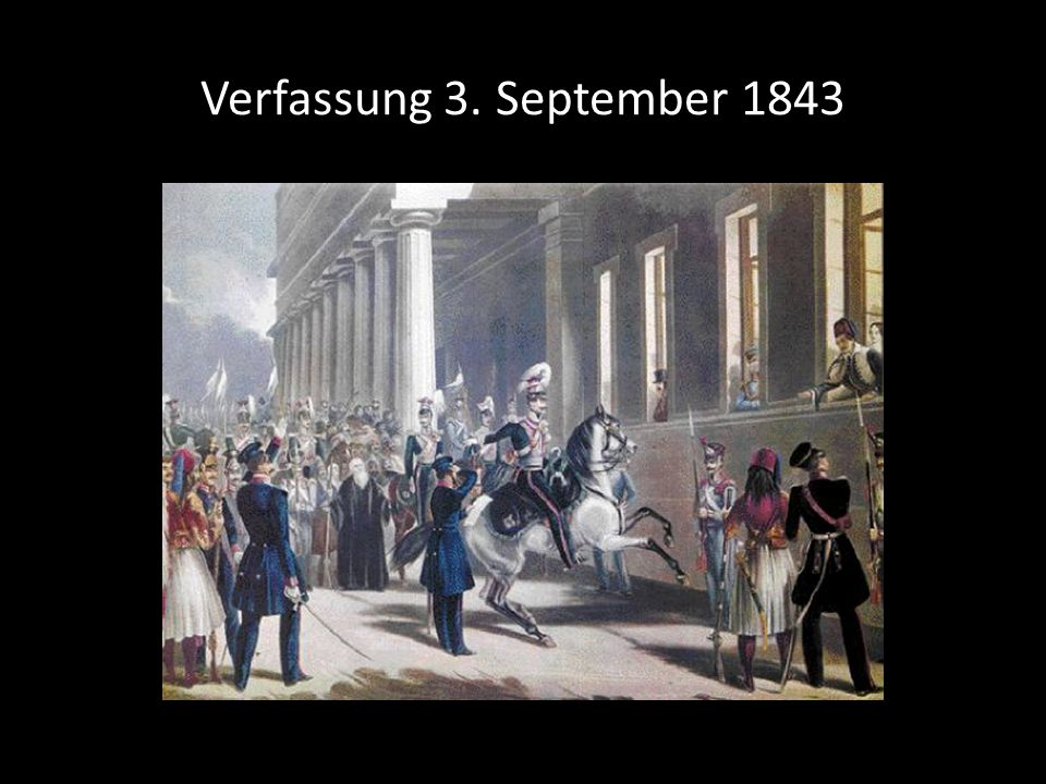 Verfassung 3. September 1843 3. September