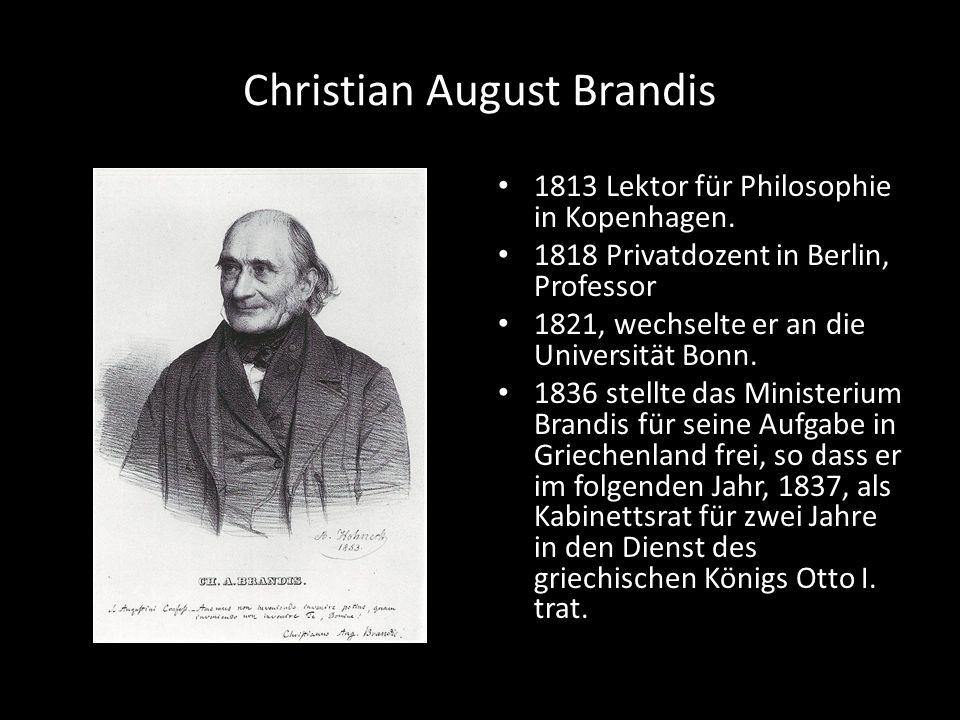 Christian August Brandis