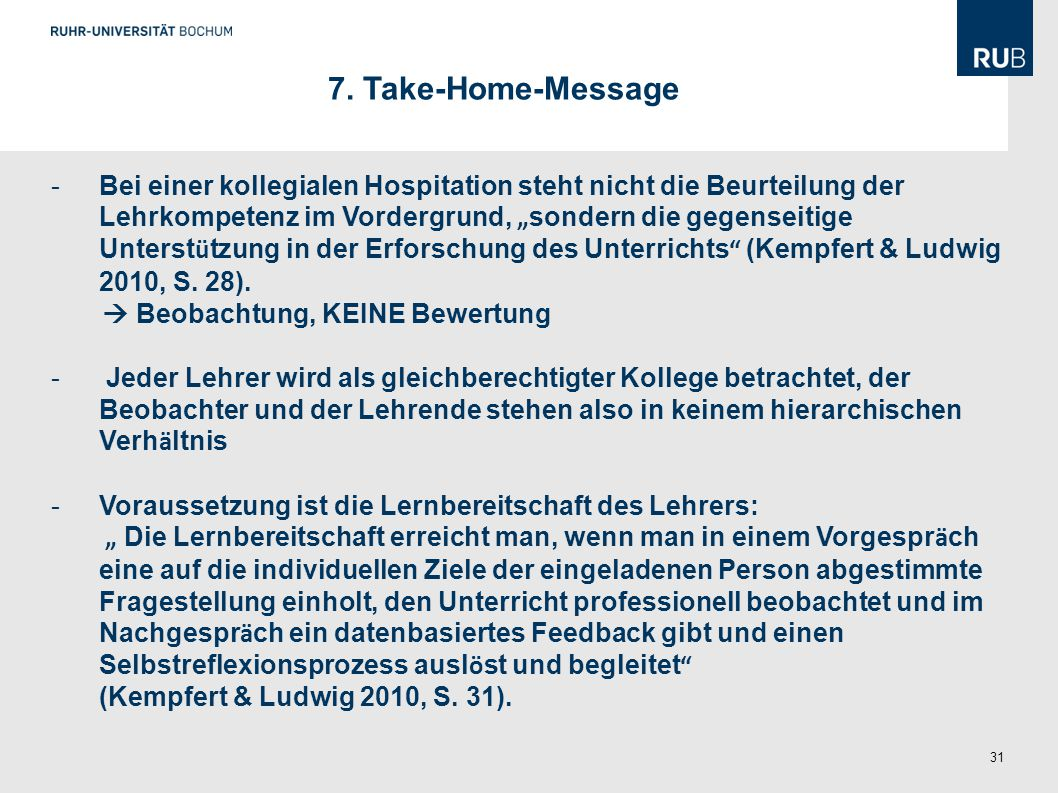 7. Take-Home-Message