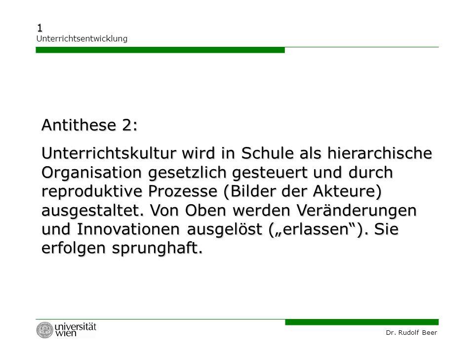 Antithese 2: