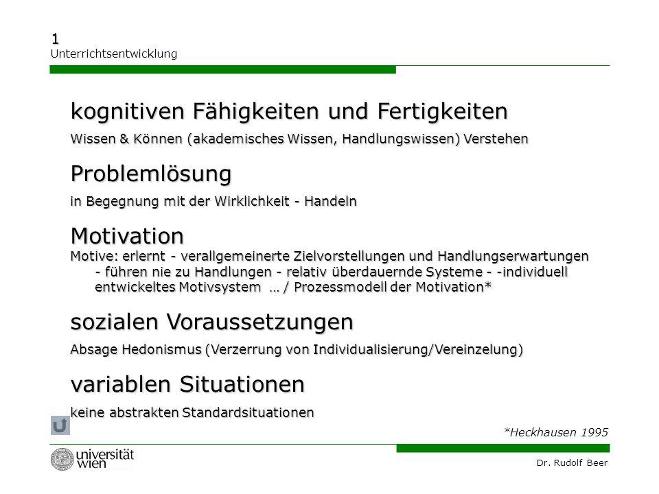kognitiven Fähigkeiten und Fertigkeiten Problemlösung Motivation