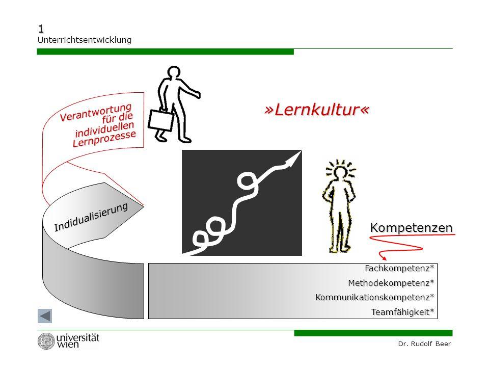 »Lernkultur« Kompetenzen