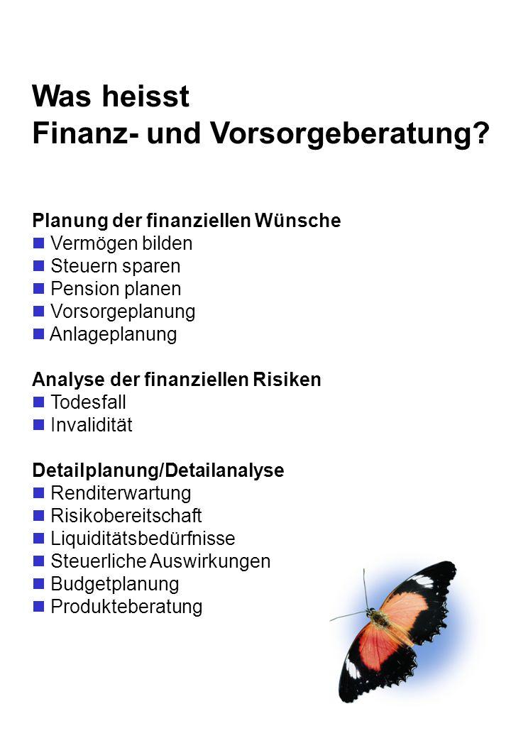 Finanz- und Vorsorgeberatung