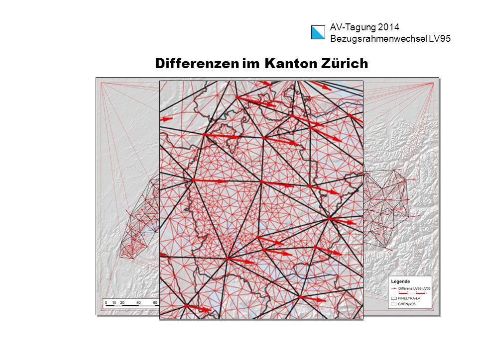 Differenzen im Kanton Zürich