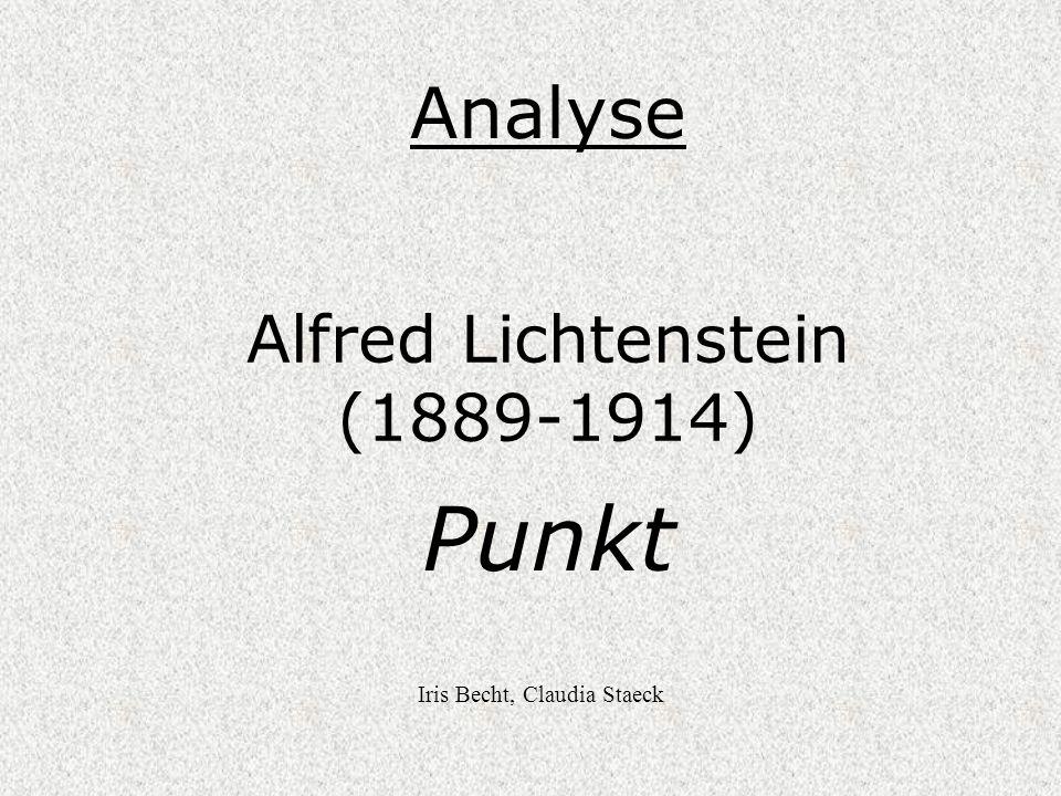 Alfred Lichtenstein (1889-1914)