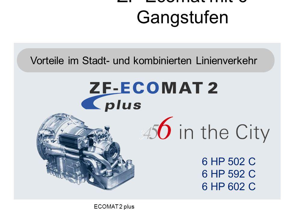 ZF-Ecomat mit 6 Gangstufen