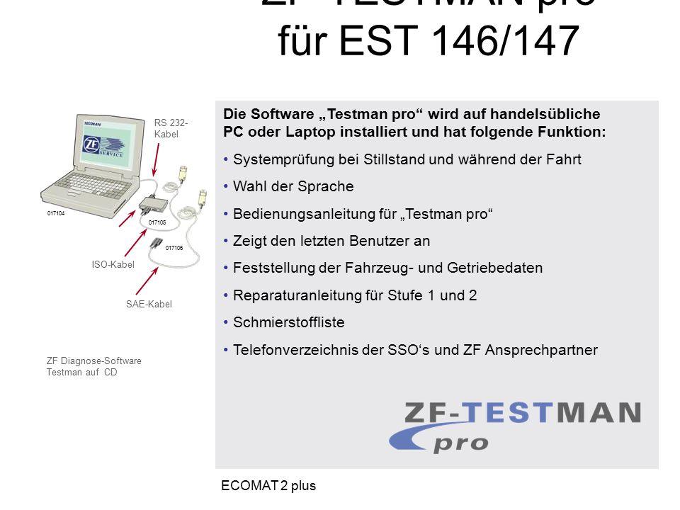 ZF-TESTMAN pro für EST 146/147