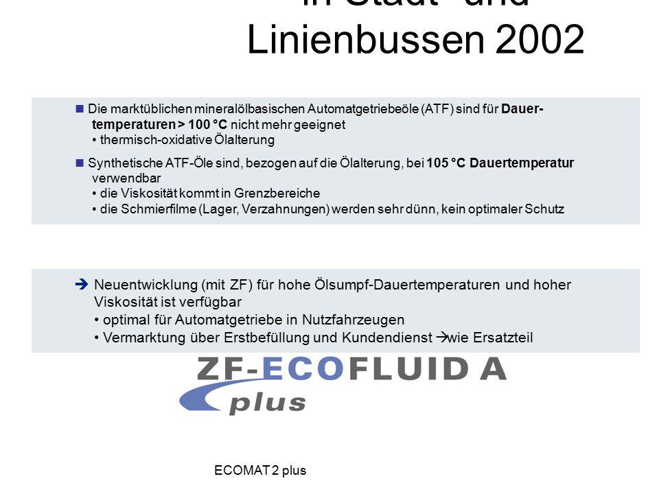 Getriebeöl für Automatgetriebe in Stadt- und Linienbussen 2002