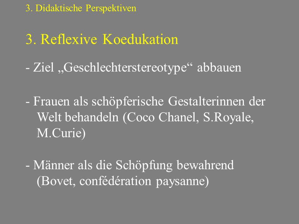 3. Reflexive Koedukation