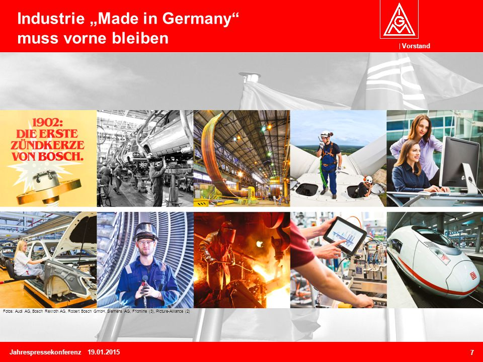 Tarifrunde Metall/ Elektro Betriebspolitik und Arbeitszeitdebatte