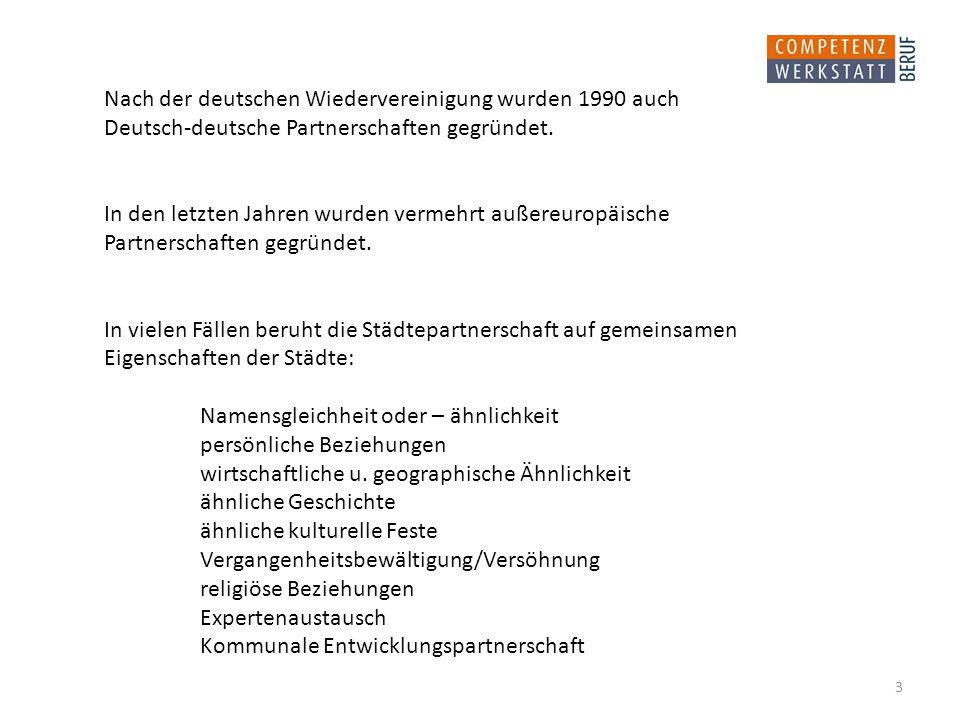 Nach der deutschen Wiedervereinigung wurden 1990 auch