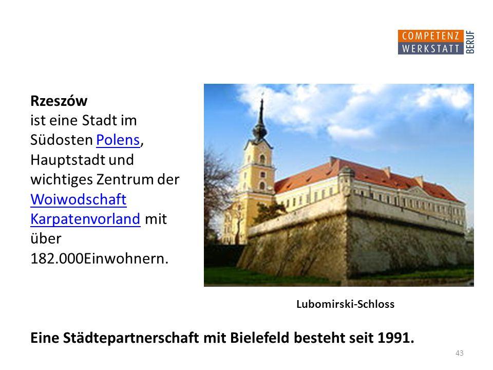 Eine Städtepartnerschaft mit Bielefeld besteht seit 1991.