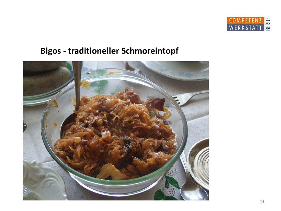 Bigos - traditioneller Schmoreintopf