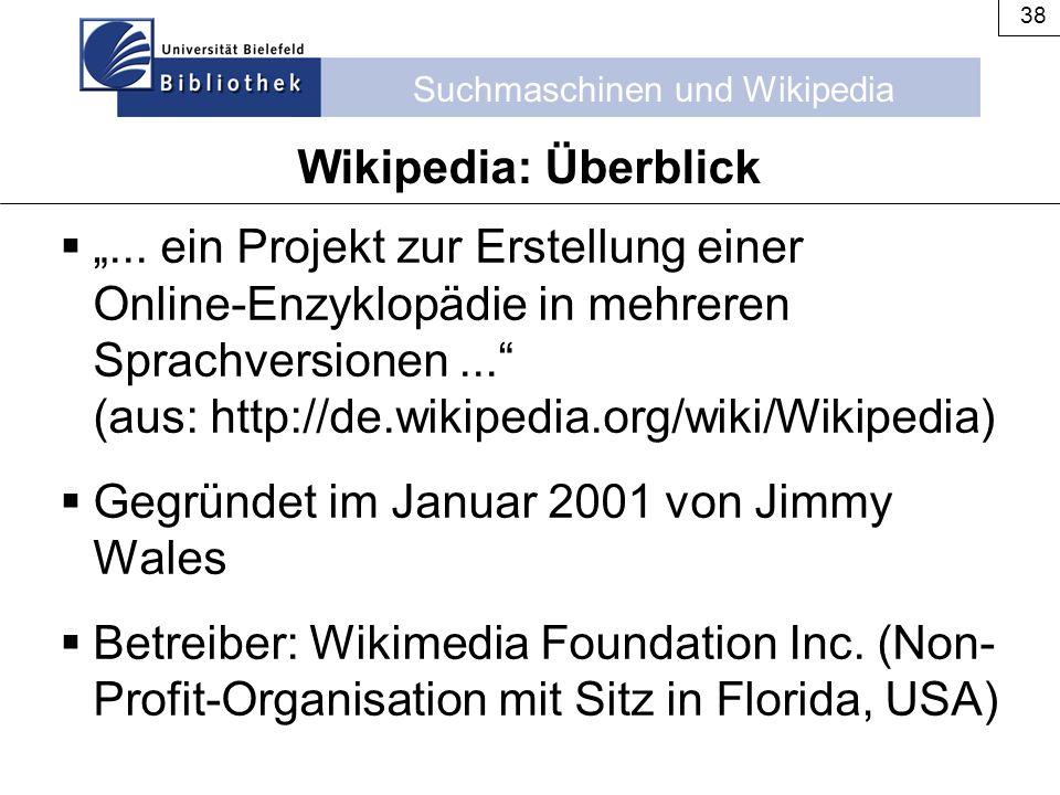 Wikipedia: Überblick