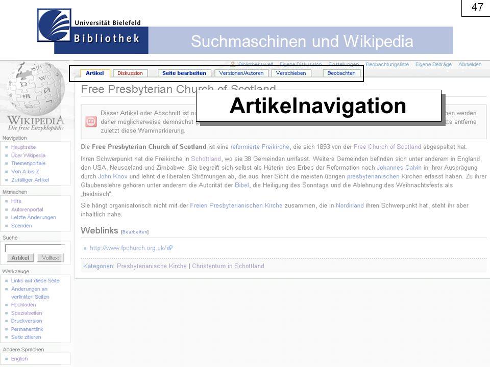 Artikelnavigation