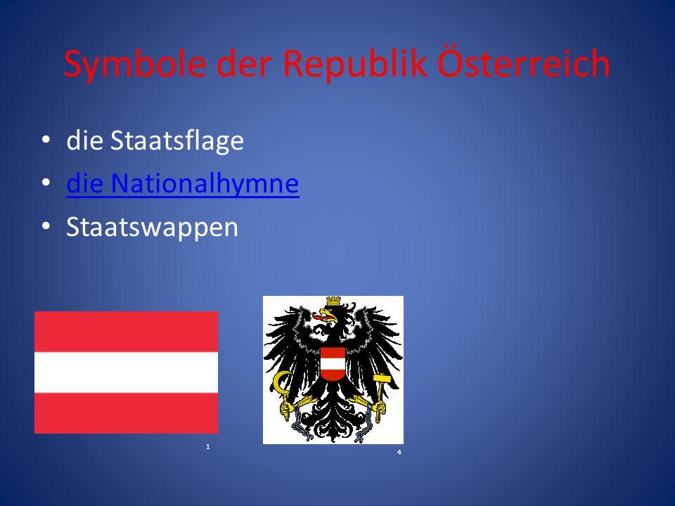 Symbole der Republik Österreich