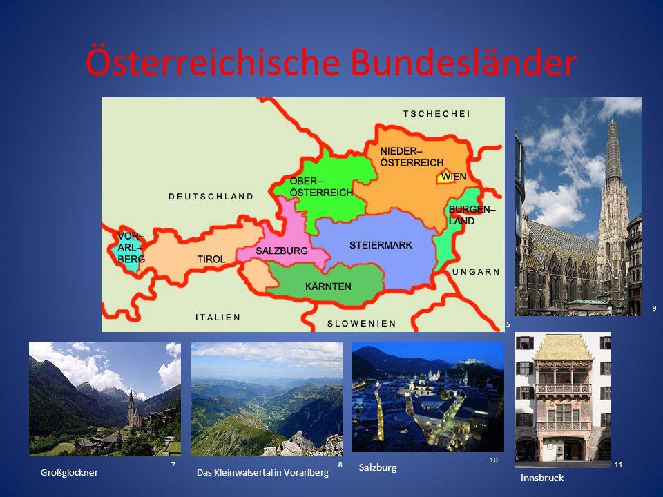 Österreichische Bundesländer
