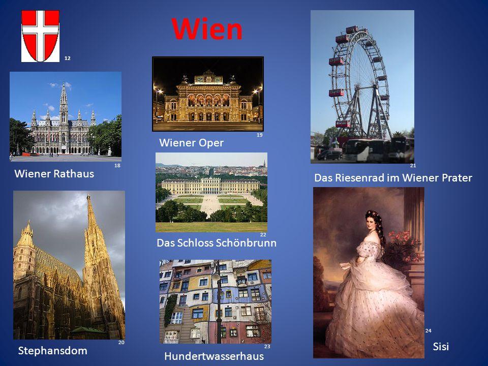 Wien Wiener Oper Wiener Rathaus Das Riesenrad im Wiener Prater