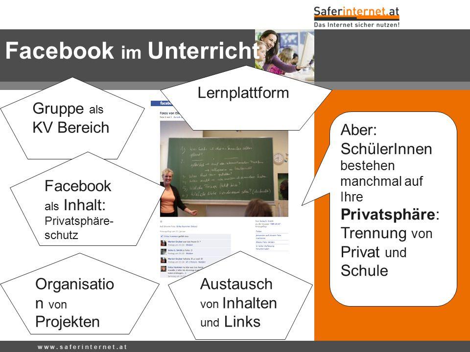 Facebook im Unterricht