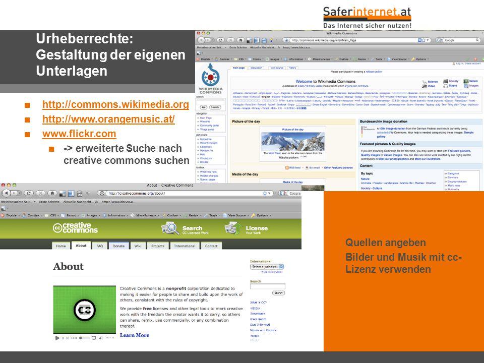 Urheberrechte: Gestaltung der eigenen Unterlagen
