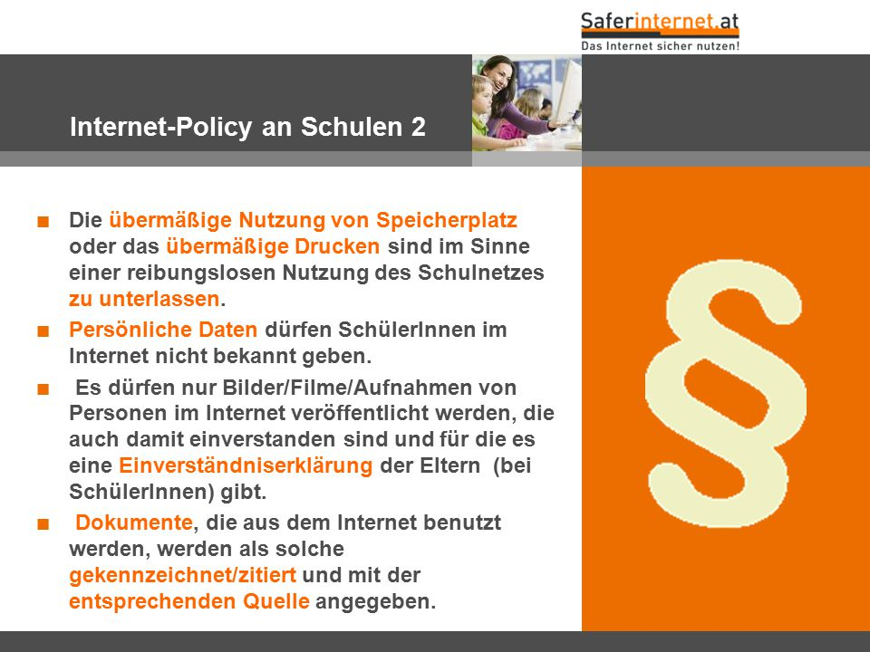 Internet-Policy an Schulen 2