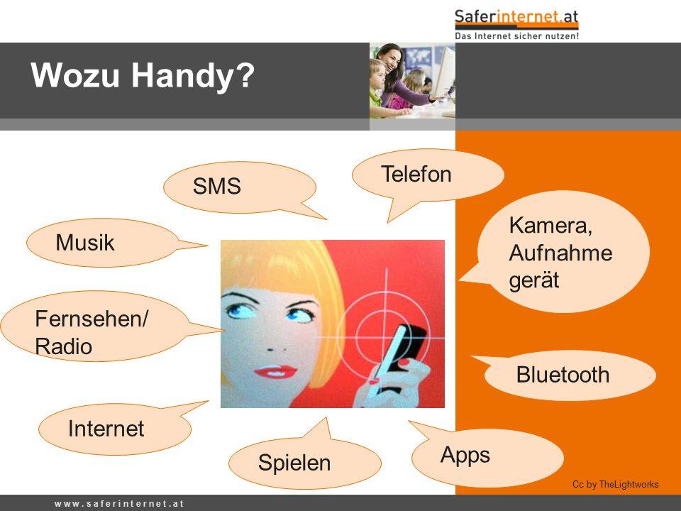 Wozu Handy Telefon SMS Kamera, Aufnahmegerät Musik Fernsehen/Radio