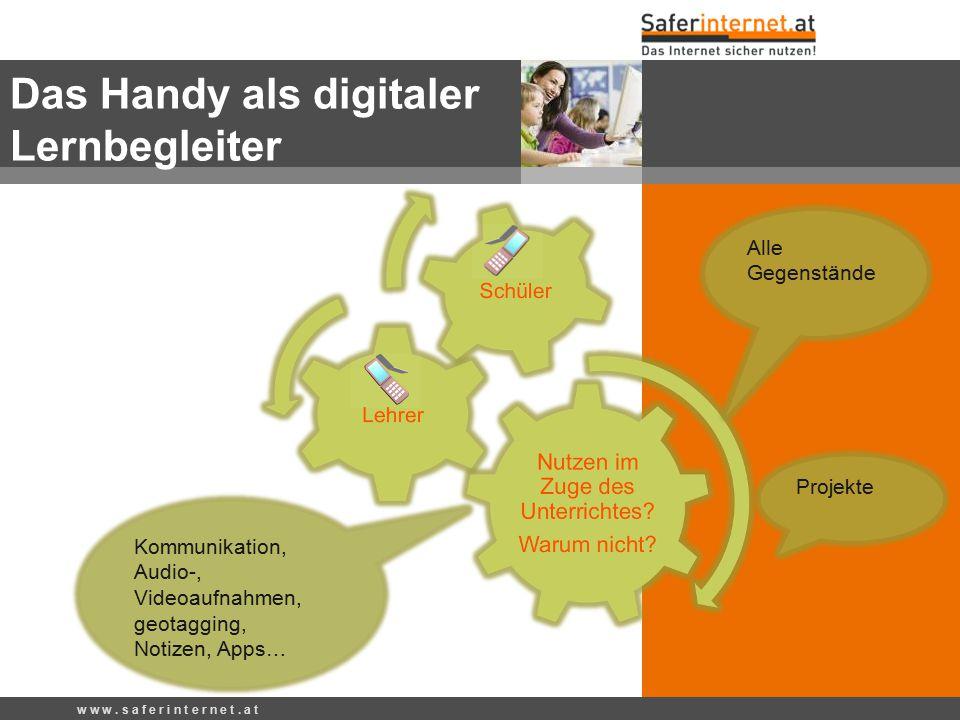 Das Handy als digitaler Lernbegleiter