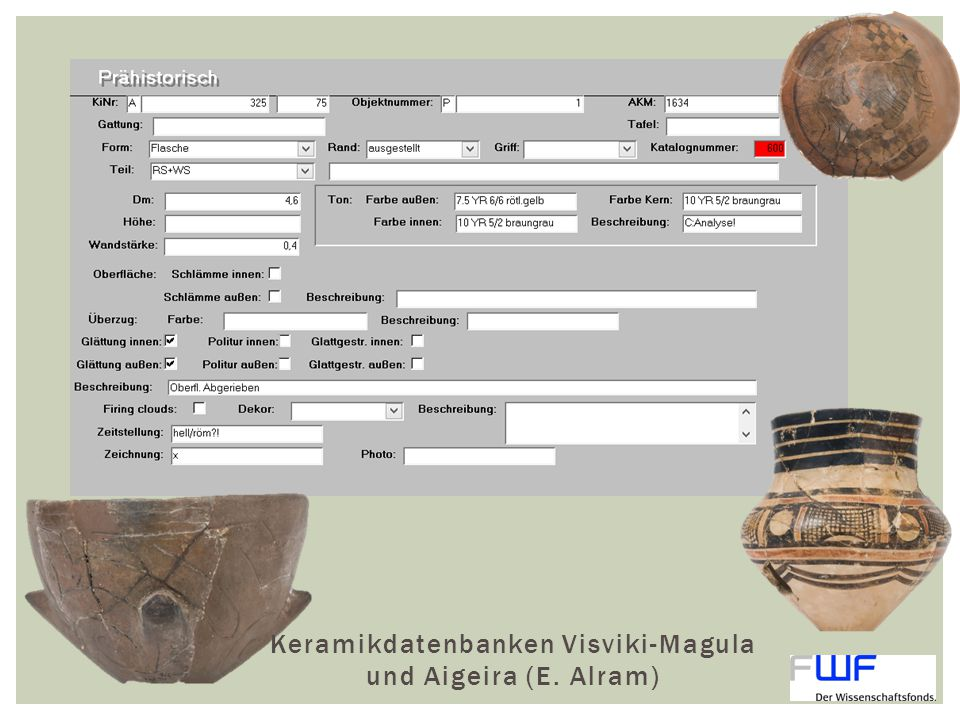 Keramikdatenbanken Visviki-Magula