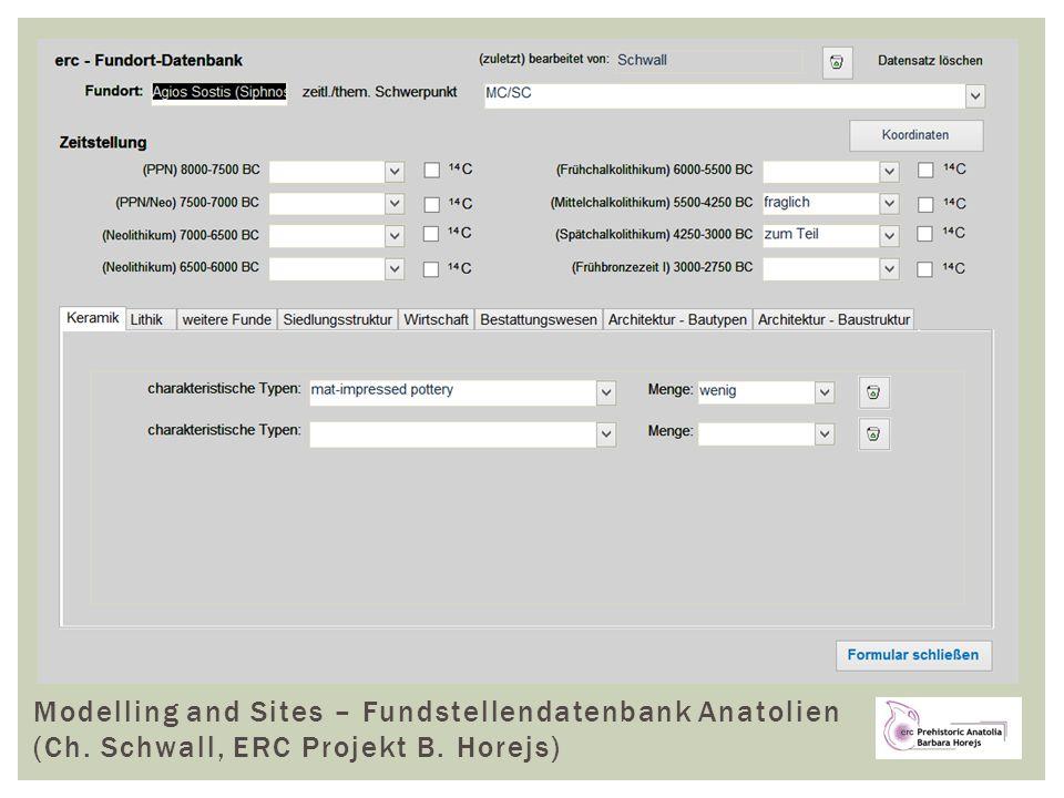 Fundstellendatenbank für Anatolien