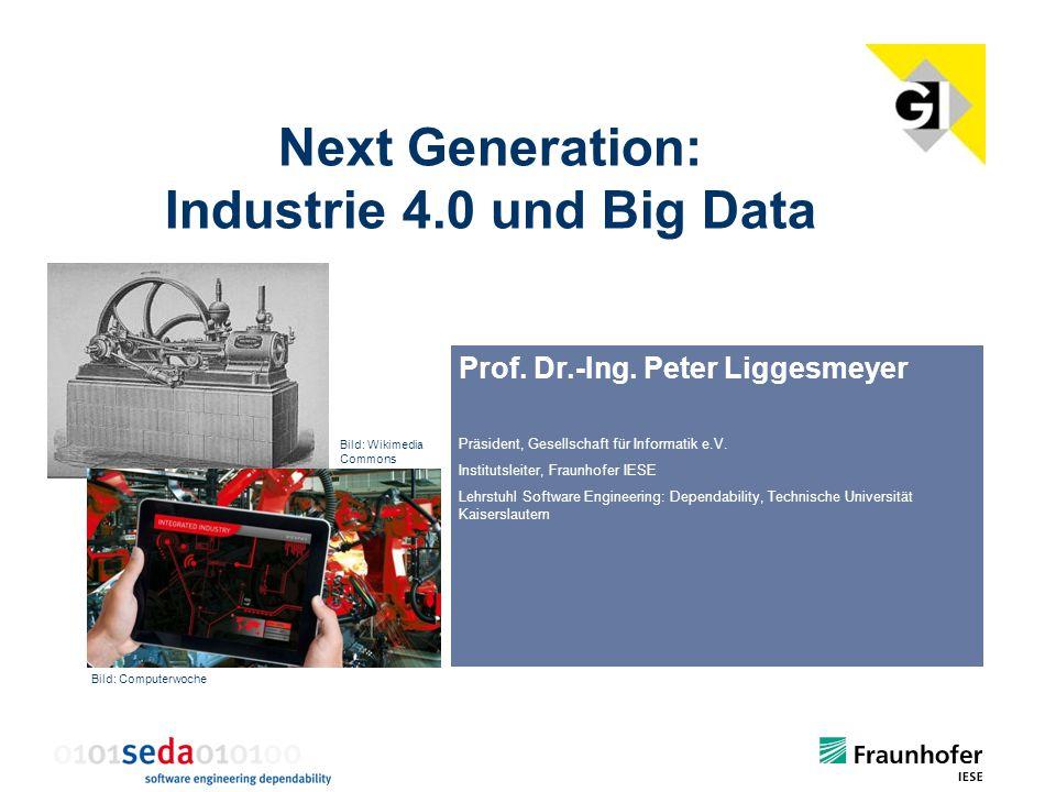 Next Generation: Industrie 4.0 und Big Data
