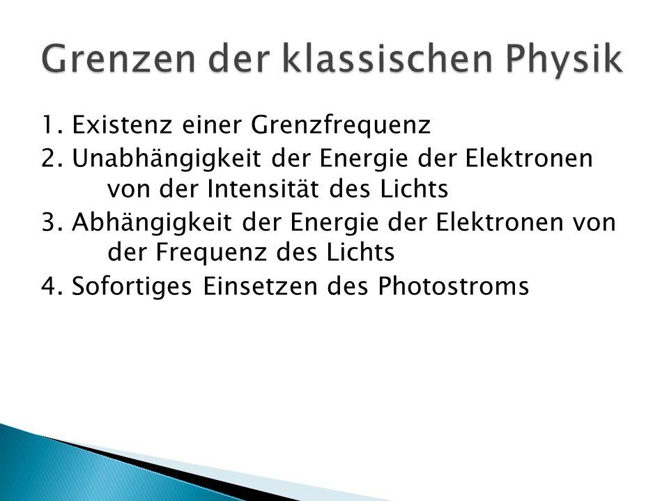 Grenzen der klassischen Physik
