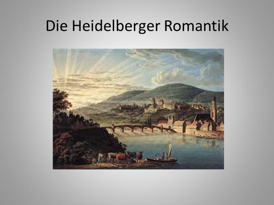 Die Heidelberger Romantik