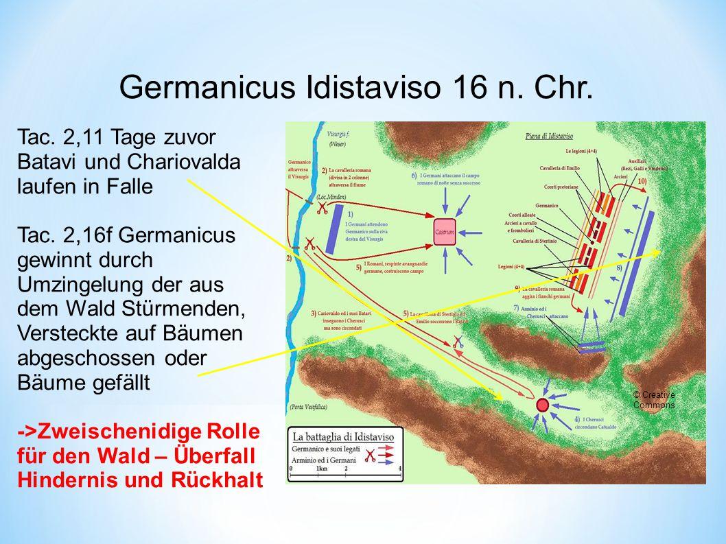 Germanicus Idistaviso 16 n. Chr.