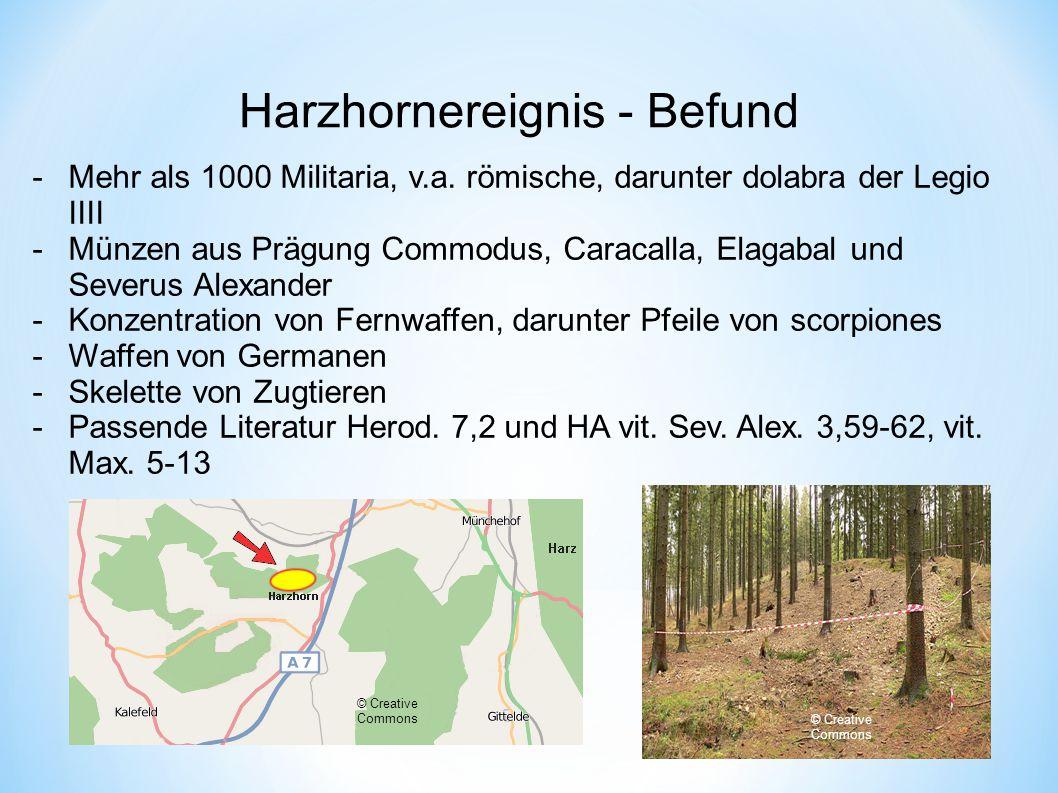Harzhornereignis - Befund