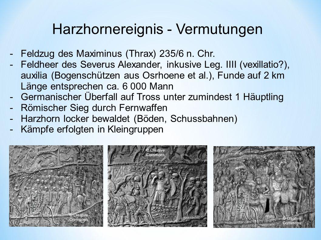 Harzhornereignis - Vermutungen