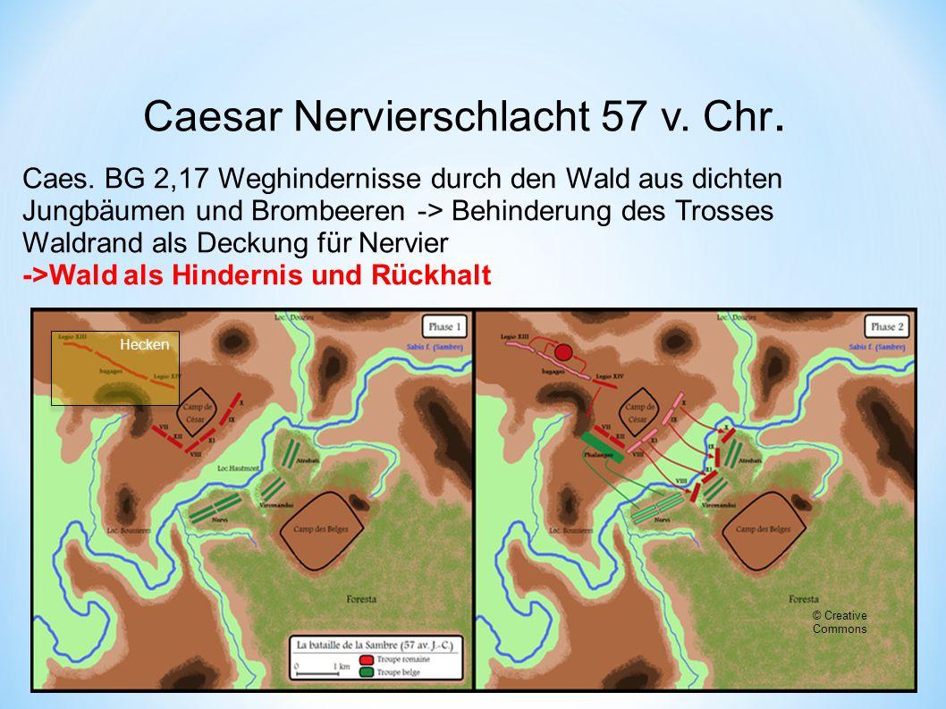 Caesar Nervierschlacht 57 v. Chr.